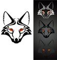 logo fox 1 vector image vector image