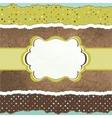 Vintage Pattern Card vector image vector image