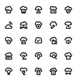 Cloud Data Technology Icons 2 vector image