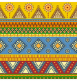Tribal aztec seamless pattern vector image