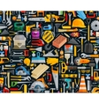 construction and repair working tools set color vector image