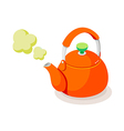icon kettle vector image vector image