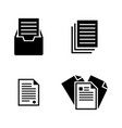 file simple related icons vector image