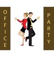 Office party concept vector image vector image
