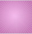 Sun Sunburst Pattern Retro vector image