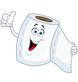 Toilet paper cartoon vector