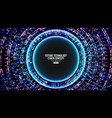 future technology cyber concept background vector image