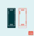 locker icon isolated vector image
