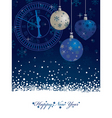 new years background vector image vector image