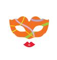 venice mask fantasy vector image