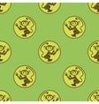 Cartoon Monkey Seamless Pattern vector image