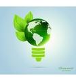 Green concept vector image