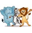 happy cartoon vector image