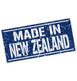 made in new zealand stamp vector image