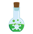Toxic potion vector image