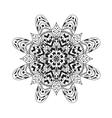 Mandala Ethnic abstract decorative elements vector image