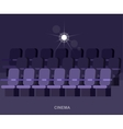 cinema movie poster template vector image