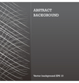 left white net fold on dark grey abstract vector image vector image
