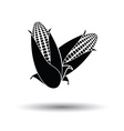 Corn icon vector image