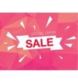 Super Sale Special Offer banner on pink background vector image