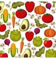 vegetables background design vector image