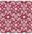 Cultural floral patterns vector image