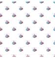 Funicular railway pattern cartoon style vector image