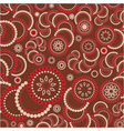 abstract brown pattern backround vector image