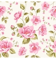 Luxurious peony pattern vector image vector image