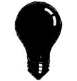 incandescent lamp vector image vector image