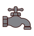 classic faucet icon image vector image