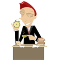 time for coffee vector image