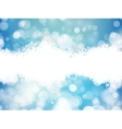 Festive defocused lights EPS 10 vector image