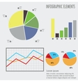 Set elements of infographics for design eps 10 vector image
