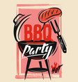 bbq vecor template vector image