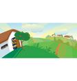 hen house vector image vector image