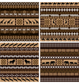 African motifs vector image