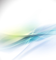 Abstract smooth bright flow background vector image vector image