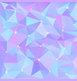 beautiful blue abstract background of triangles vector image