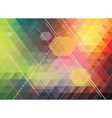 colorful polygonal abstract background vector image