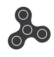 spinner icon - toy for stress relief and vector image