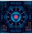 Abstract future technology concept background vector image