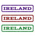 ireland watermark stamp vector image