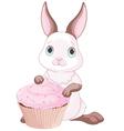 Sweet bunny vector image