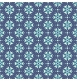 Seamless pattern in teal colors vector image