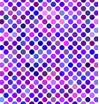 Purple abstract polka dot pattern background vector image