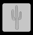 western icon vector image
