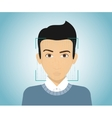 Face identification vector image
