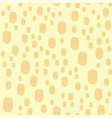 hand drawn fingerprints pattern finger-print vector image