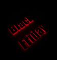 black friday banner for shops web vector image